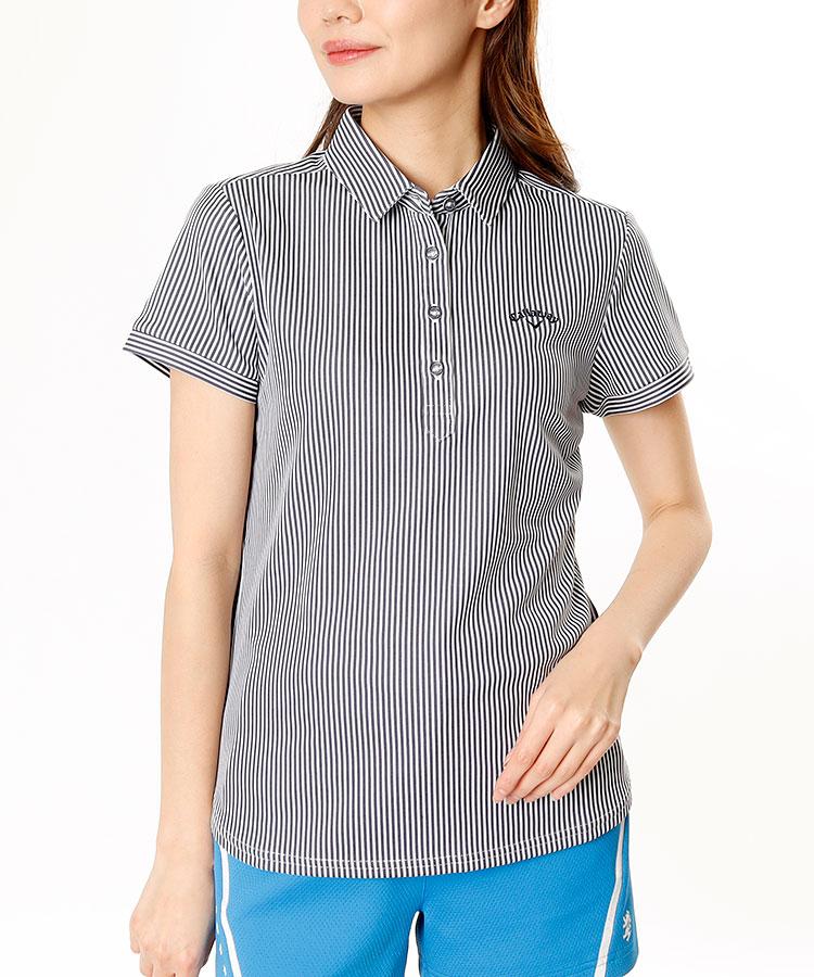 CA 吸汗速乾★Stripe半袖シャツ