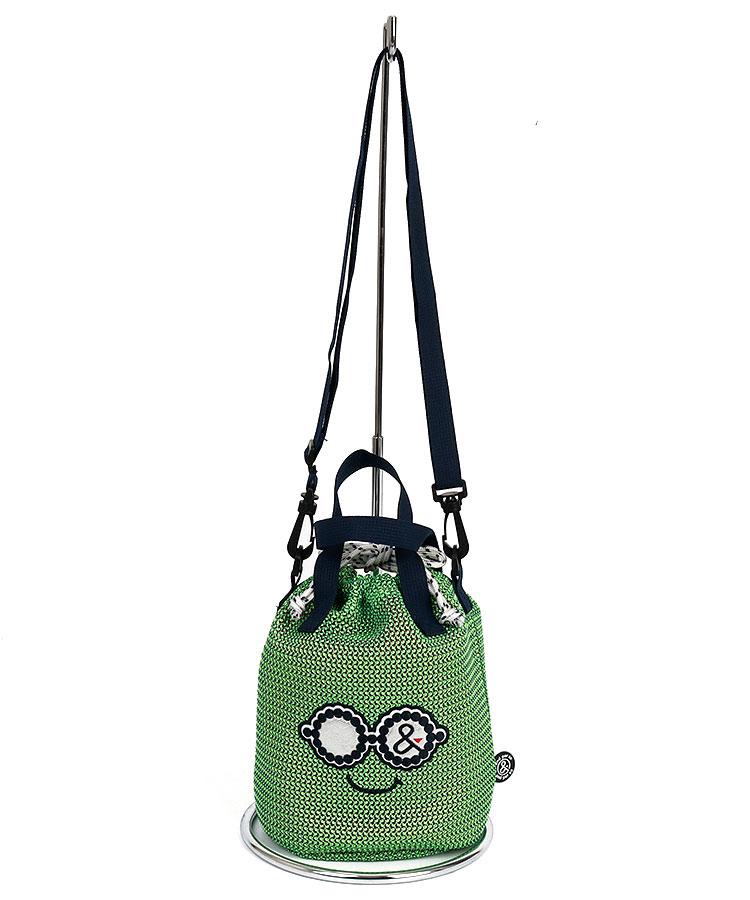 AP Smile巾着型◆2WAYカートバッグ