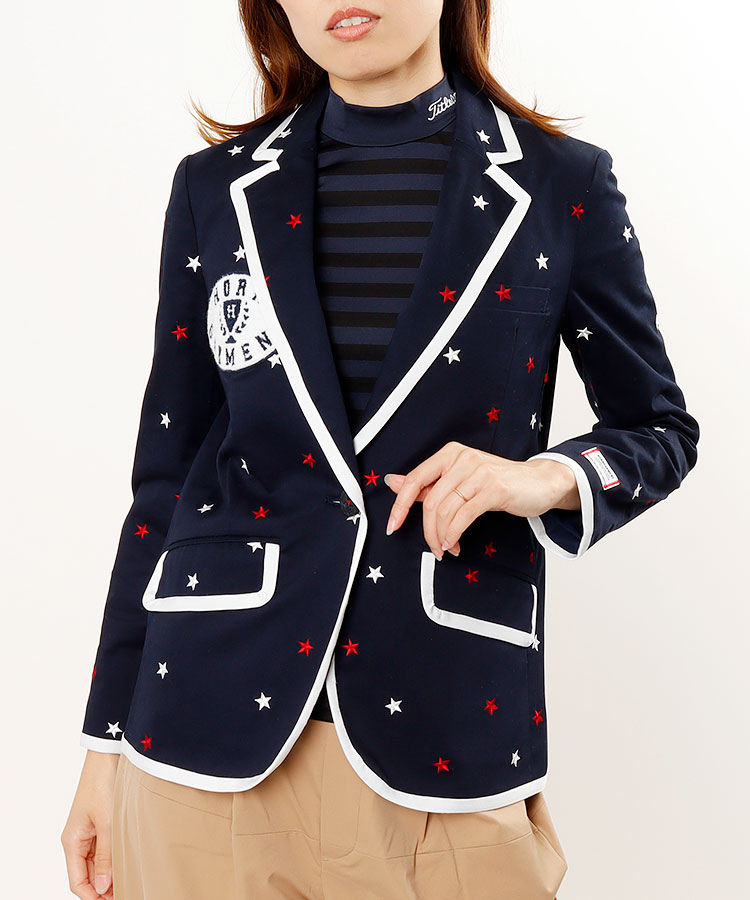 HO STAR刺繍★総柄ジャケット