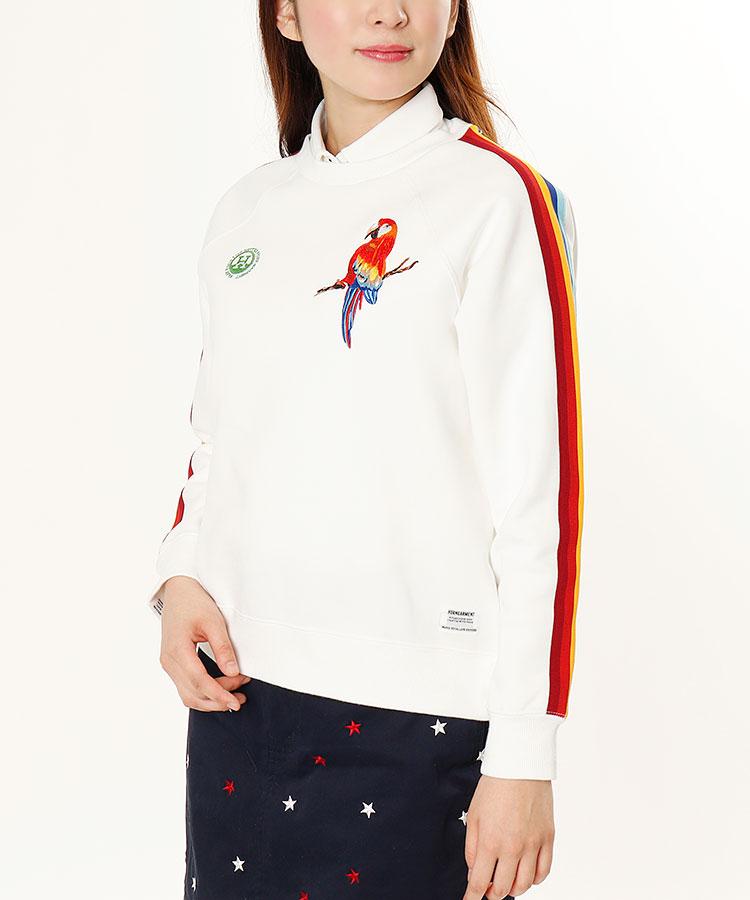 HO Rainbowライン★Bird刺繍プルオーバー