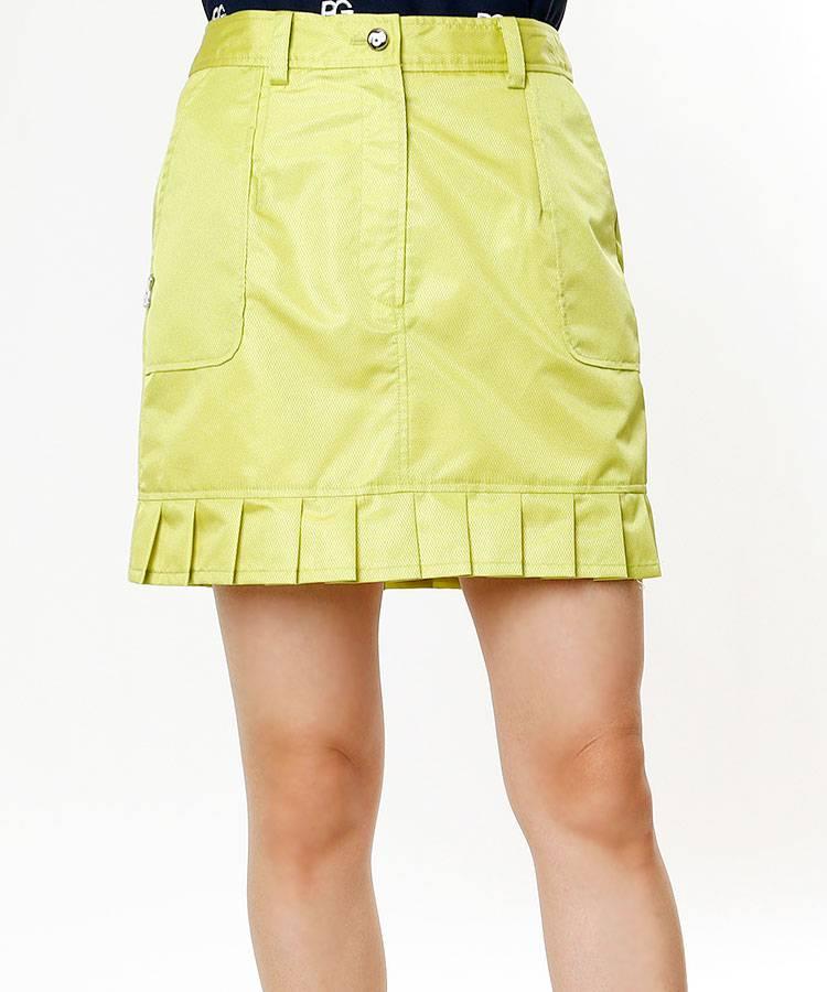 AR 裾プリーツ★シャカスカート