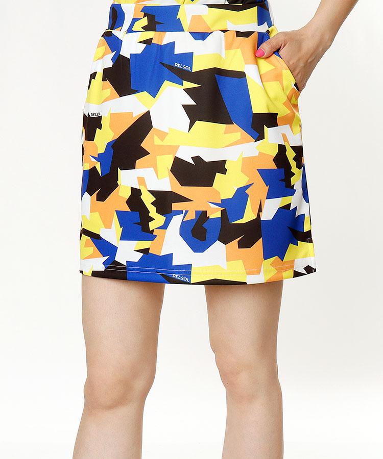 DL グラフィックPrint◆インナー付きスカート