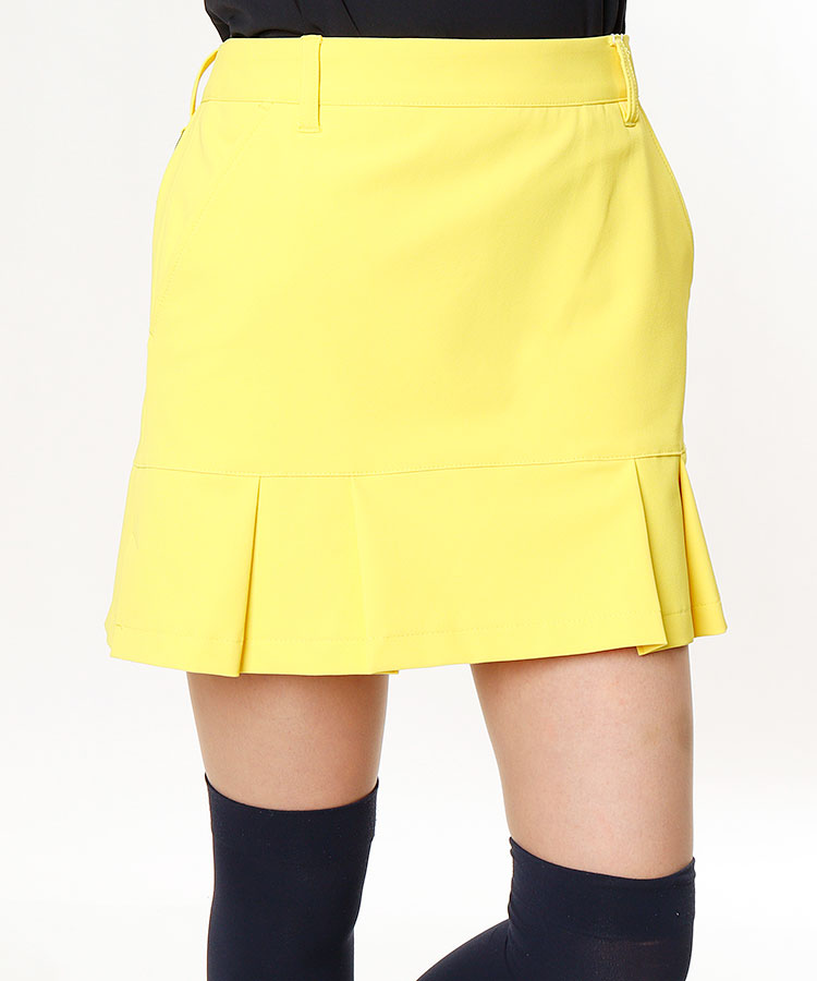 JR 一体型ペチ♪裾切替スカート