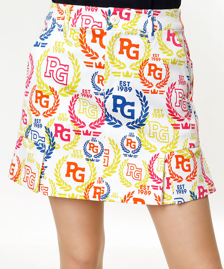 PG ローリエプリントBOXスカート