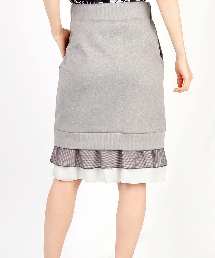 FP Back裾フリル♪スウェットスカート