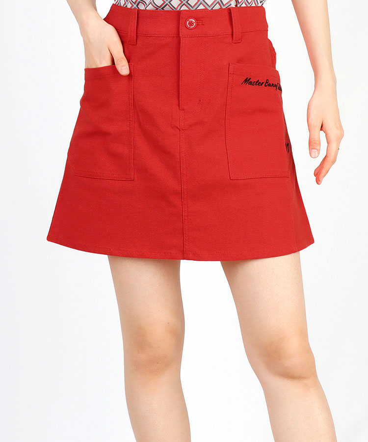 MB BACKウエストロゴ◆スカート