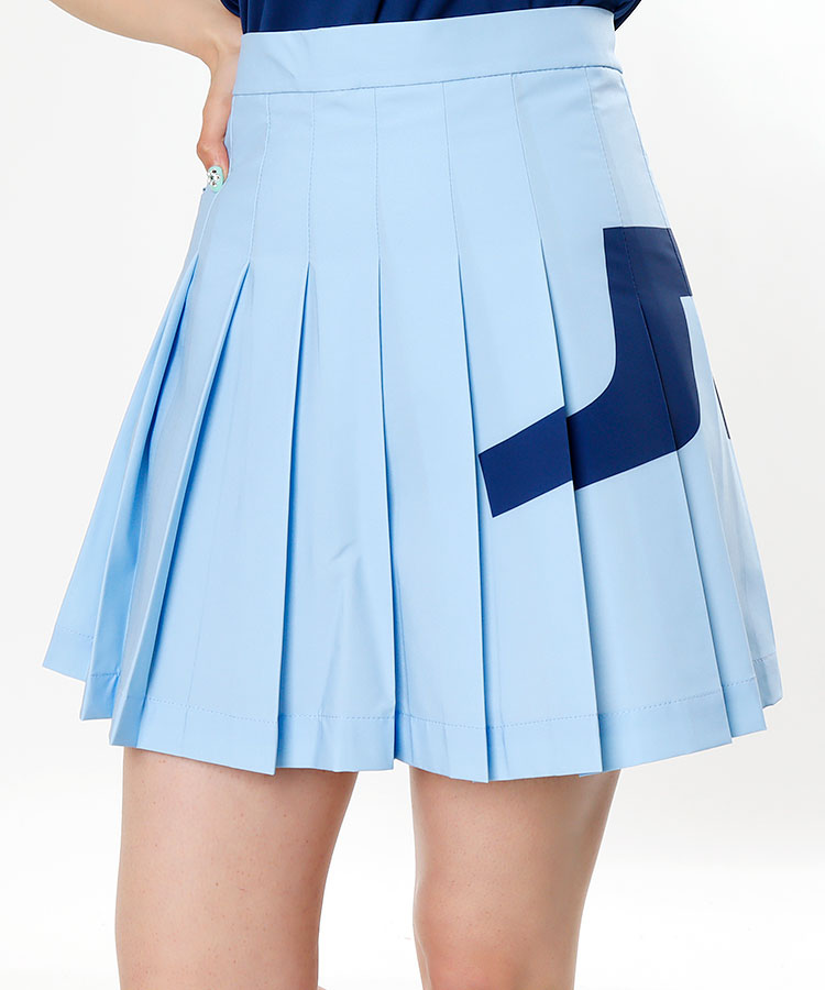 JL BIGブランドロゴ♪プリーツスカート