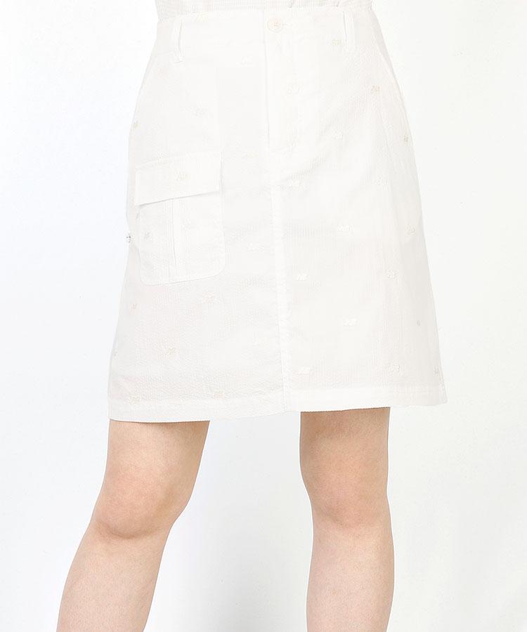 NB サッカーストライプ◆5ポケBOXスカート