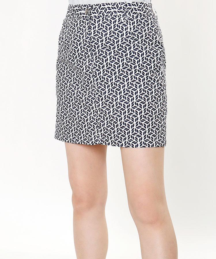 TL 高機能★リーフ柄スカート