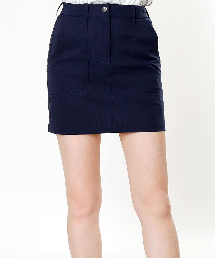 TL 撥水◆メッシュ調スカート