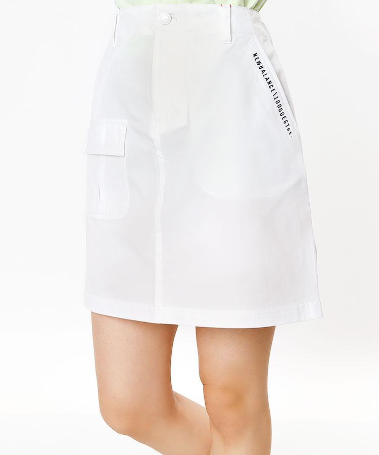 NB Backシリコンロゴ◆5ポケスカート