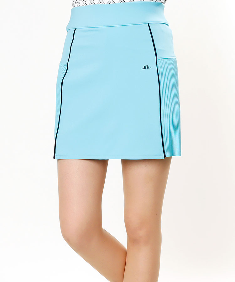 JL 吸水速乾◆プリーツ切替スカート