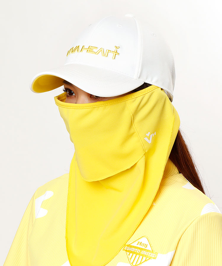 VH フェイスカバー付き★立体ロゴ刺繍キャップ