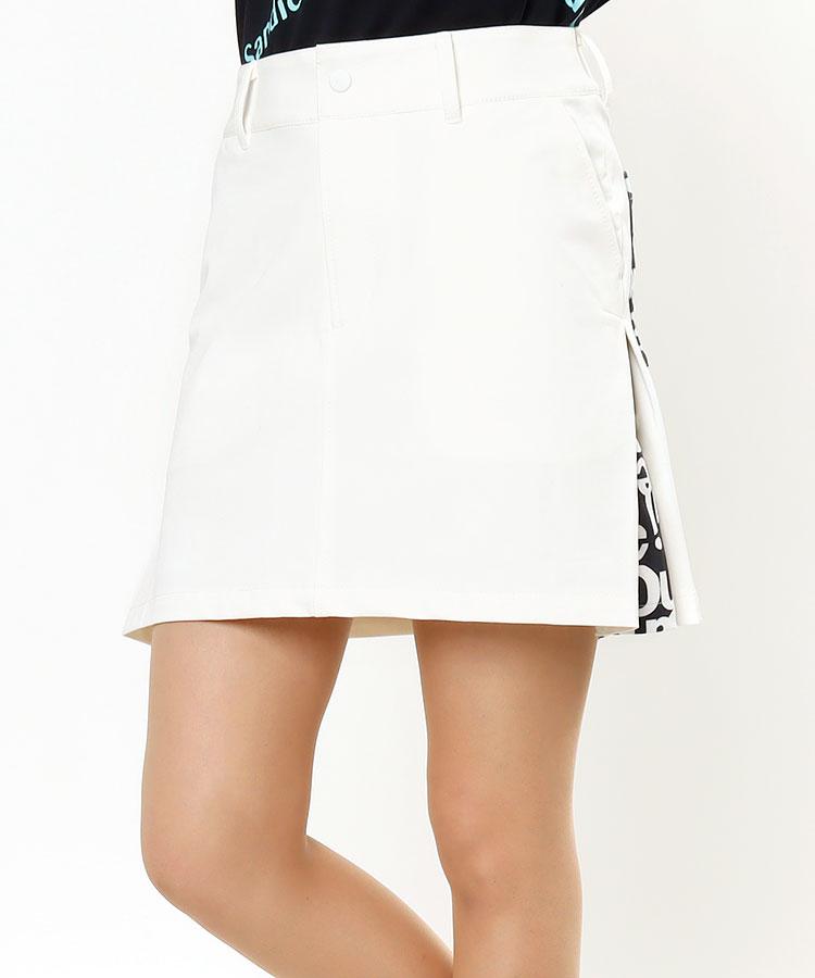 SD サイドプリーツ★ペチ付きスカート