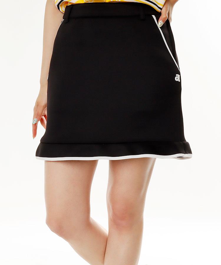 AR 裾フリル★シンプルスカート