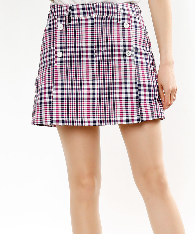 JB チェック柄スカート