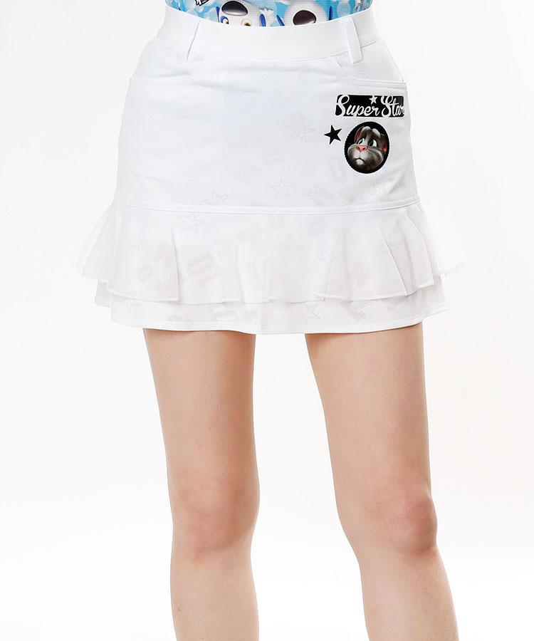 TT エンボスロゴ★フリルスカート