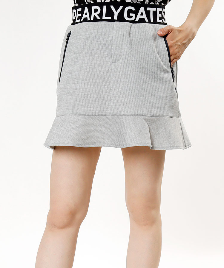 PG 裾切り替え★ソフトメッシュスカート