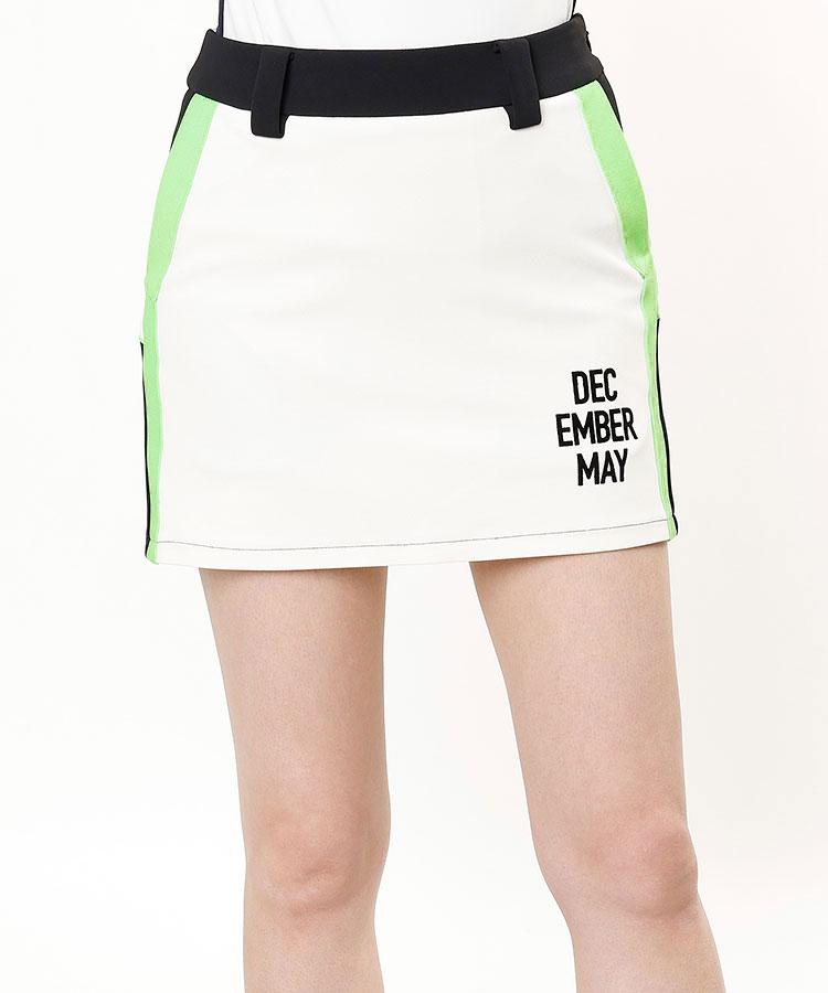 DM 一体型ペチ★バイカラースカート