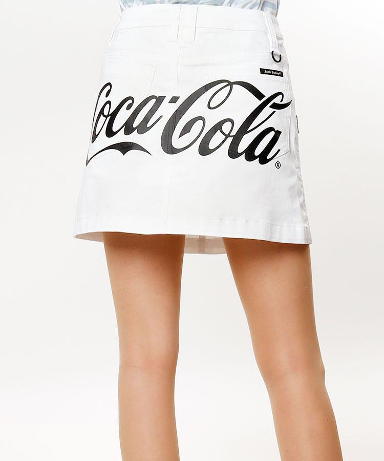 JB CocaColaバックロゴ★ツイルスカート