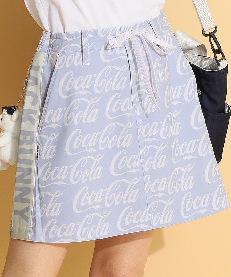 JB CocaColaロゴ総柄★ペチパンツ一体型スカート
