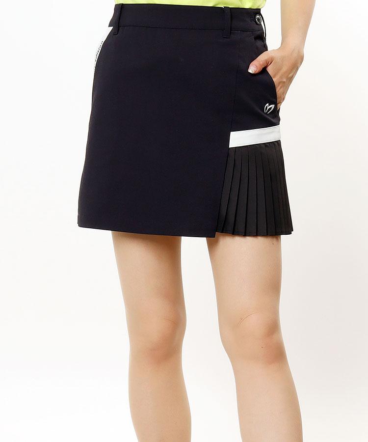 MB 耐久撥水◆サイドプリーツスカート