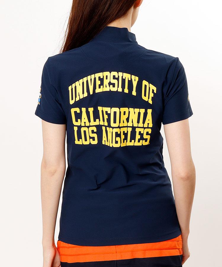 BE UCLAコラボ★モックネック半袖カットソー