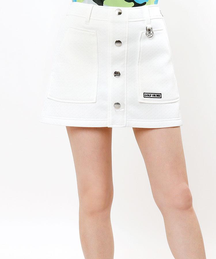 ML 一体ペチ付き◆軽量メッシュスカート