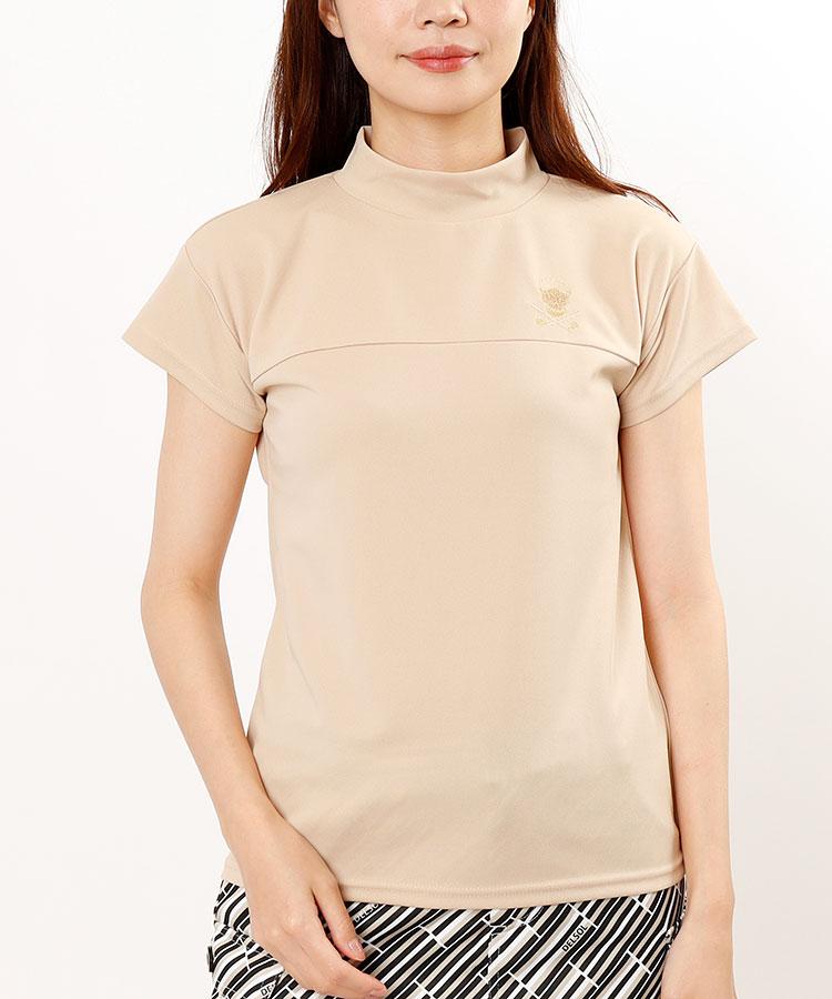 DL スカル刺繍★半袖カットソー