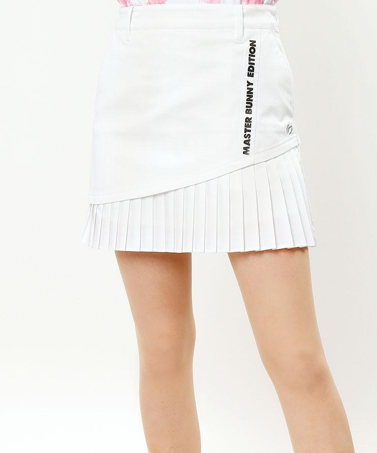 MB 高ストレッチ◆裾プリーツスカート