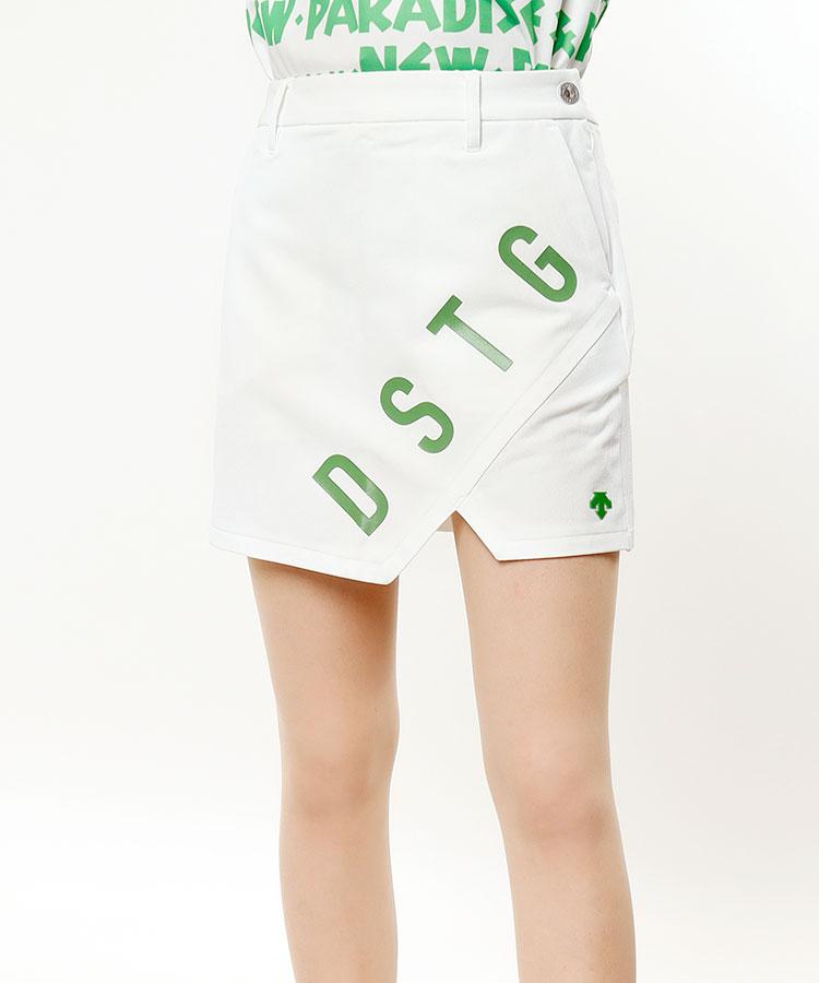 DE ペチパンツ一体型スリットスカート