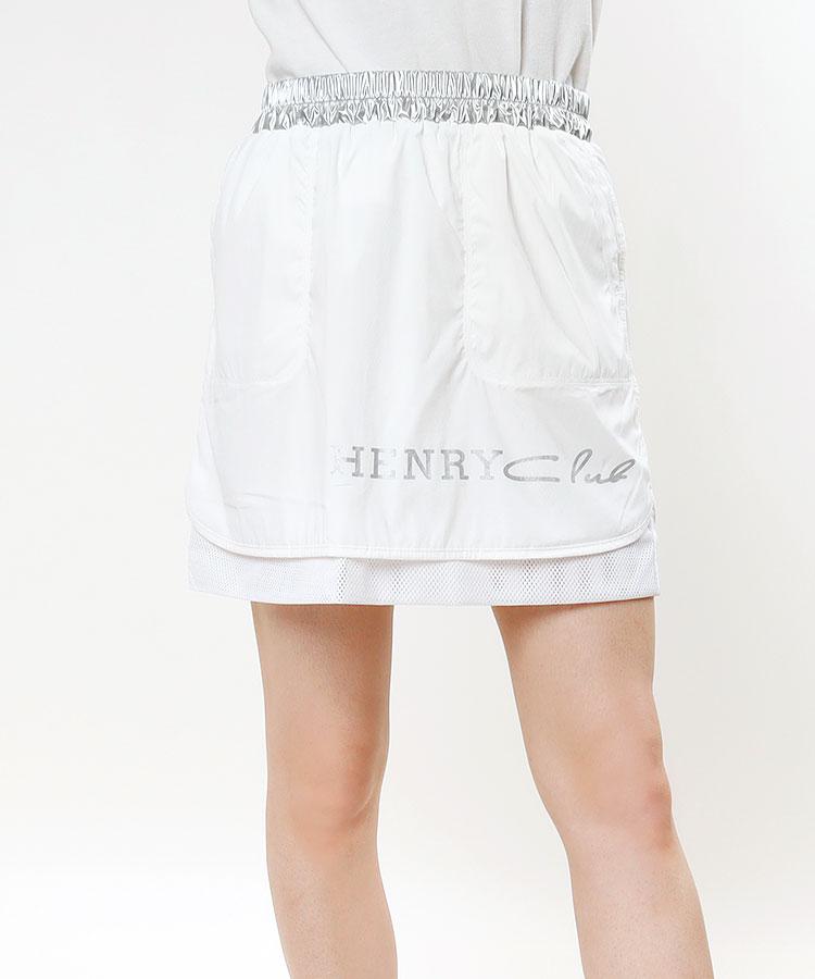 HC ナイロンメッシュ◆メタリックスカート