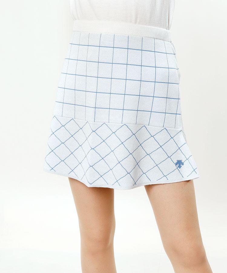 DE ウィンドペン◆ニットフレアスカート