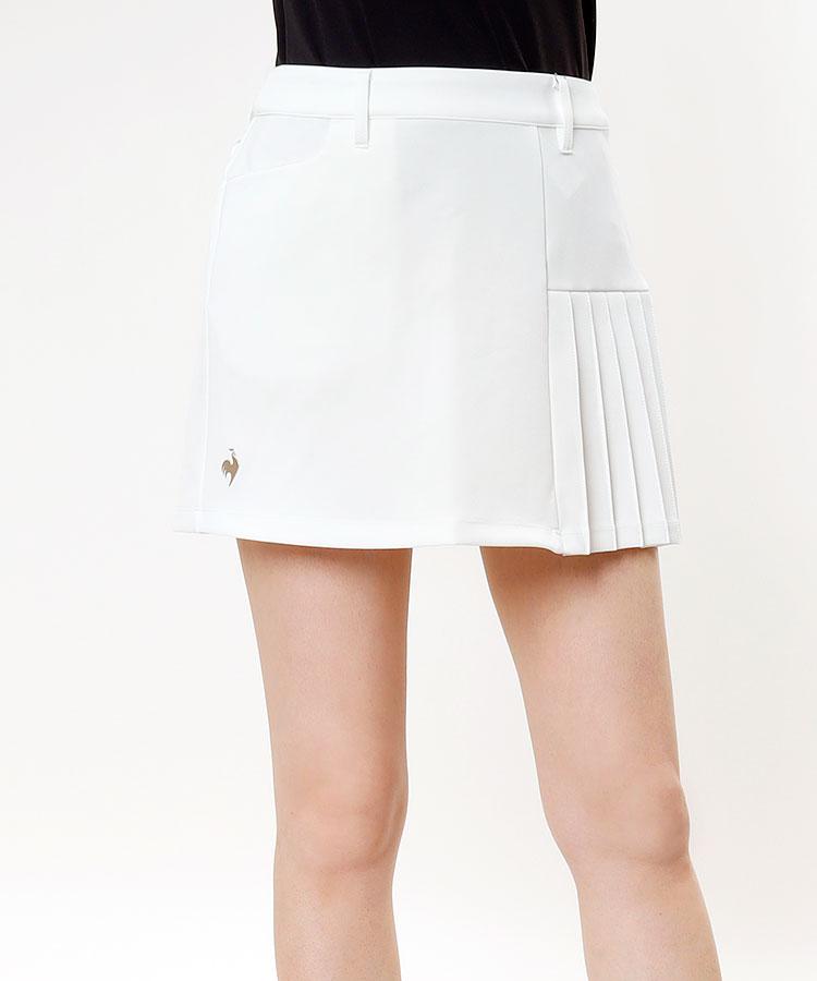 LQ [RIJOUME]アシメプリーツ★ストレッチスカート