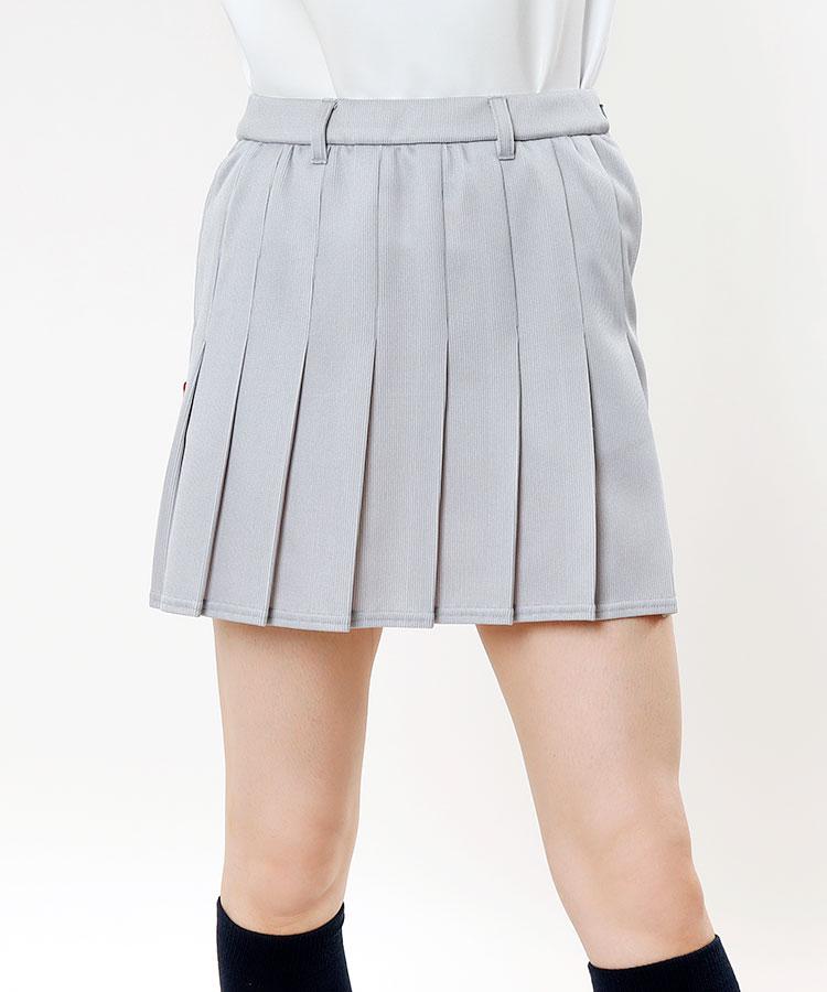 RO 吸水速乾★ミドルゲージプリーツスカート