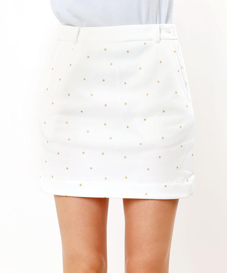 FB STAR総柄★裏起毛スカート