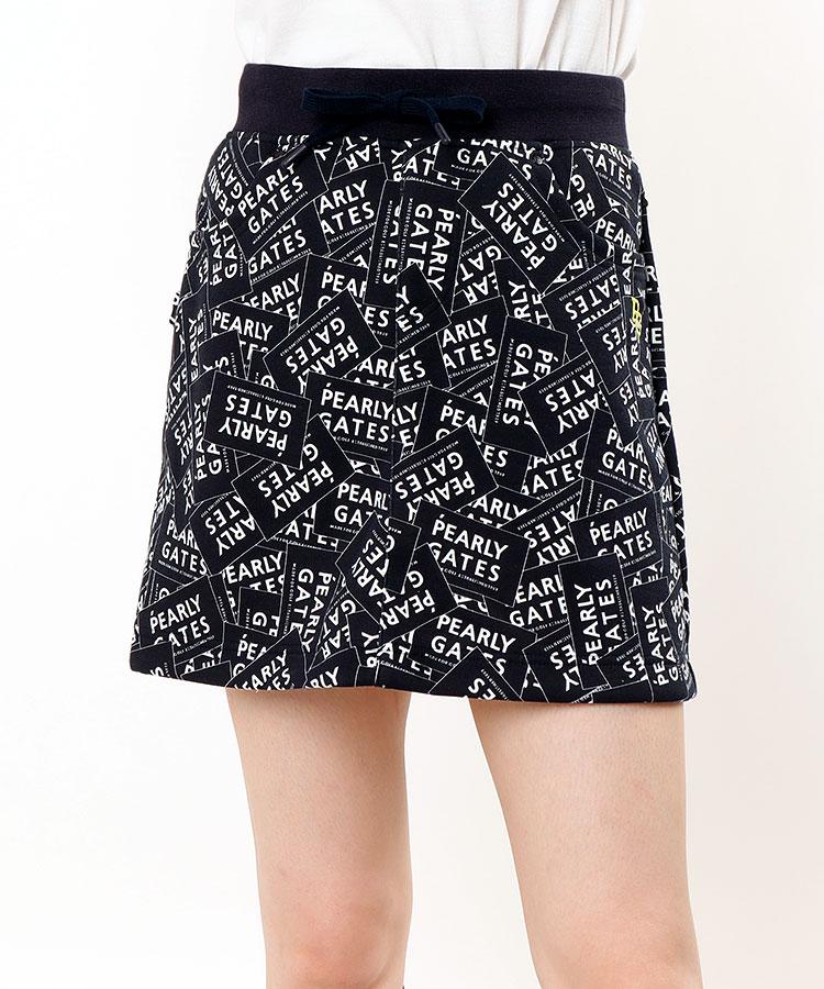 PG ステッカー柄◆台形スカート
