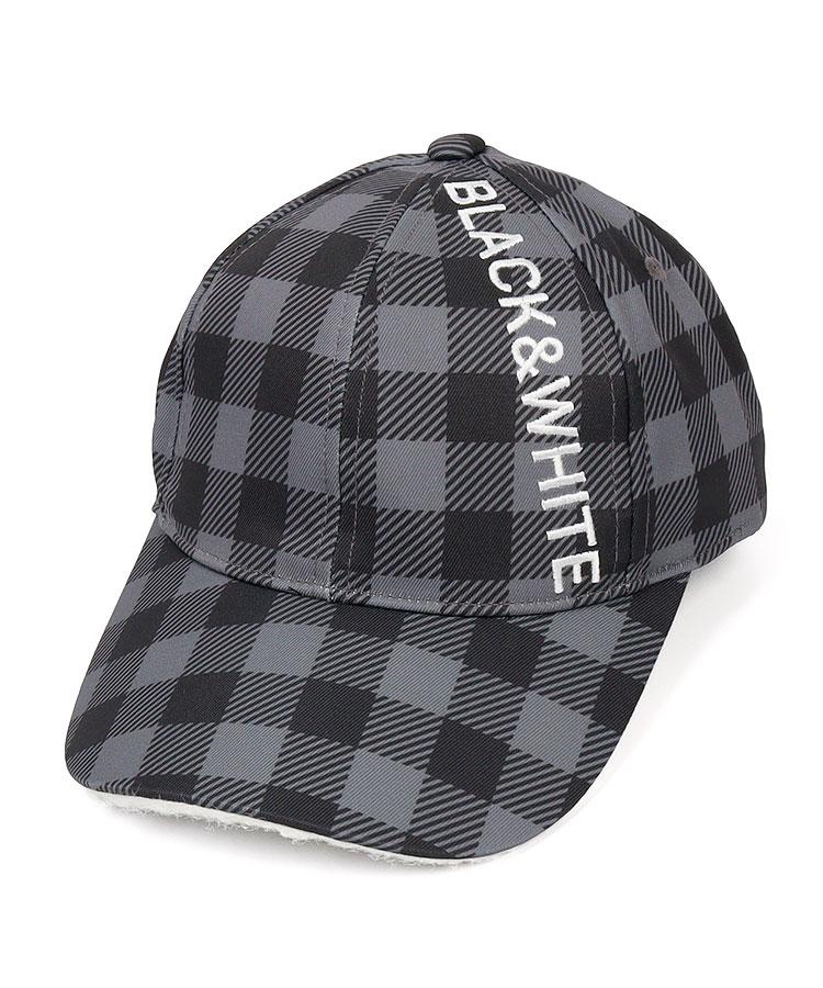 BW WHITELine◆ギンガムキャップ