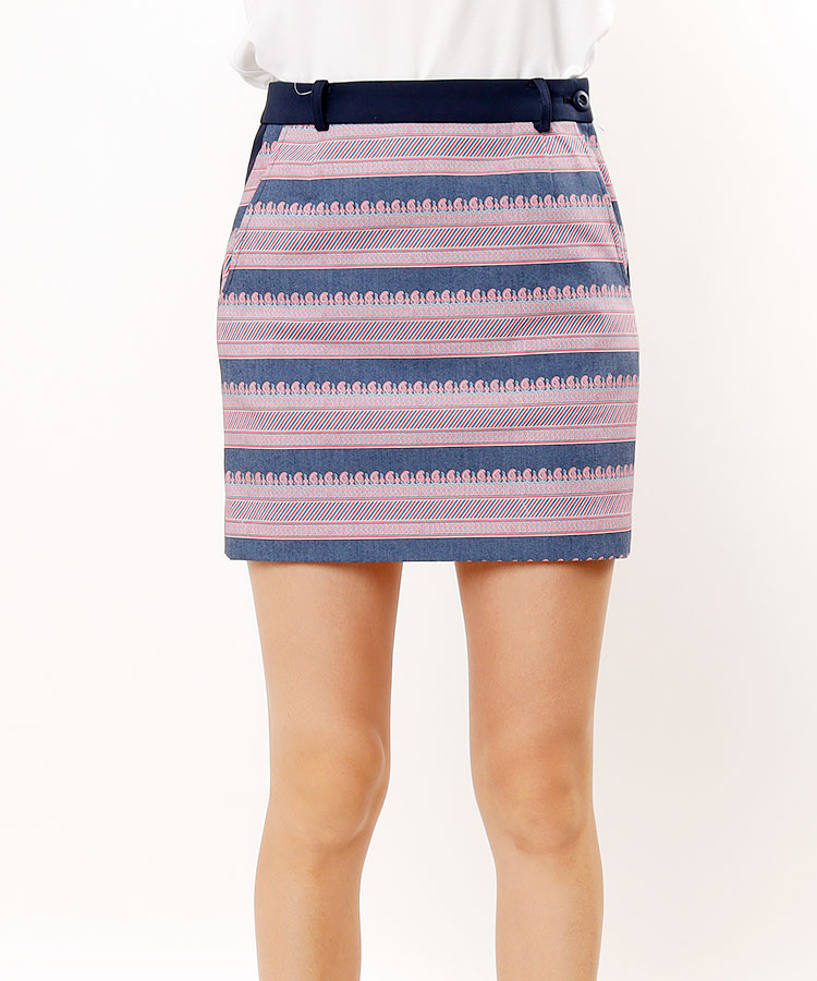 FB ペイズリー柄スカート