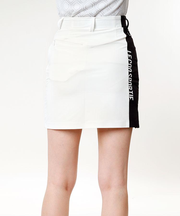 LQ [RIJOUME]バイカラー◆ハイウエストスカート