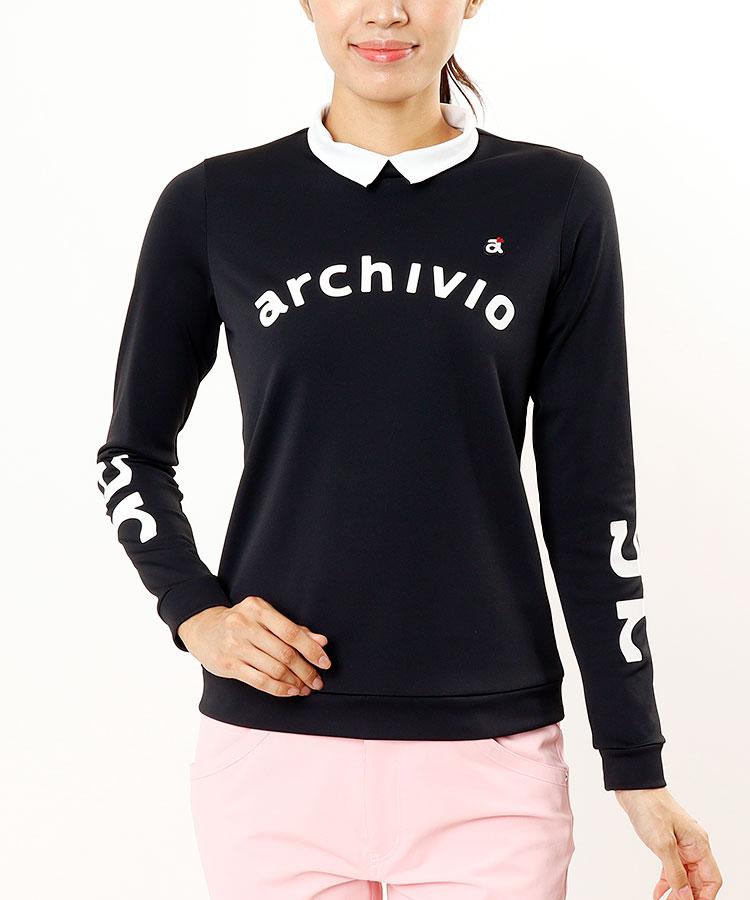 AR UV★シンプルロゴ長袖カットソー