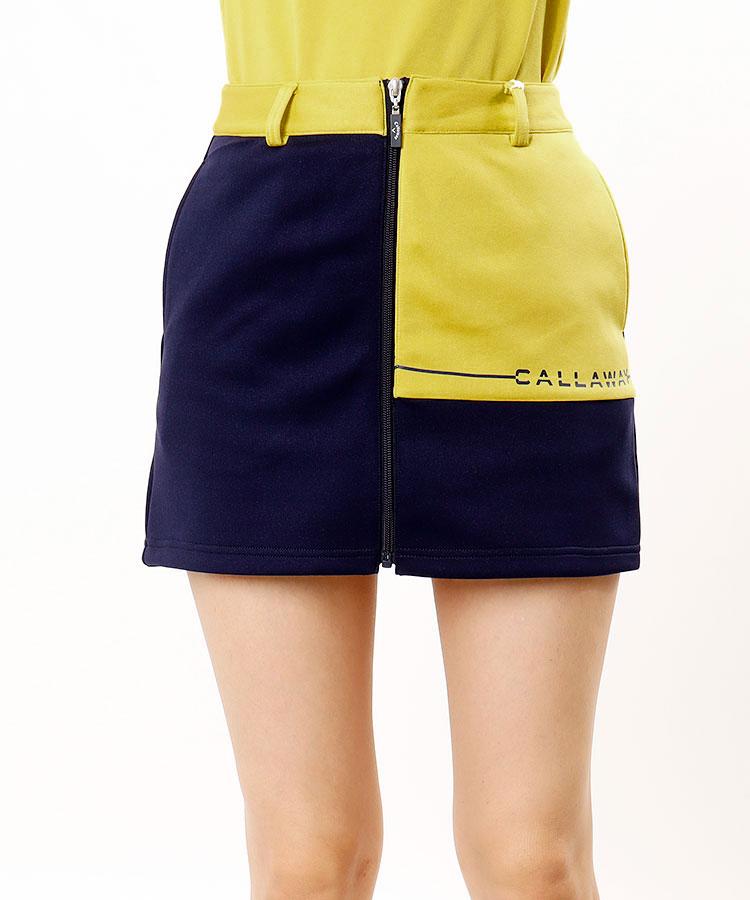 CA フロントZIP★台形スカート
