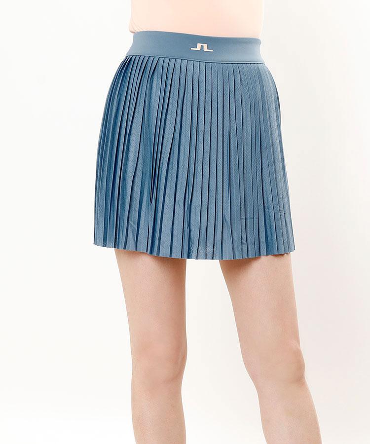 JL ペチパン一体型★プリーツスカート
