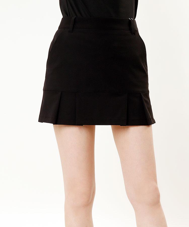 JR 【10/18まで限定タイムセール】一体型ペチ♪裾切替スカート