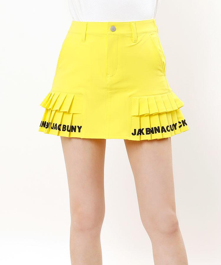 JB カラバリ豊富♪切替ロゴプリーツスカート