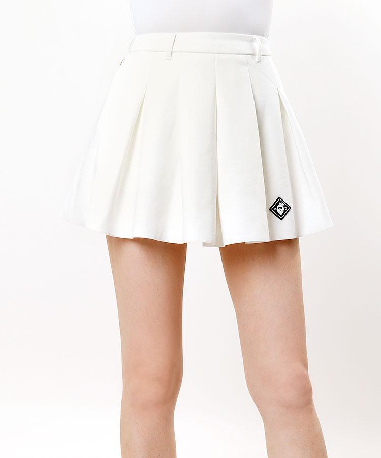 VI ペチパンツ付き◆プリーツフレアスカート