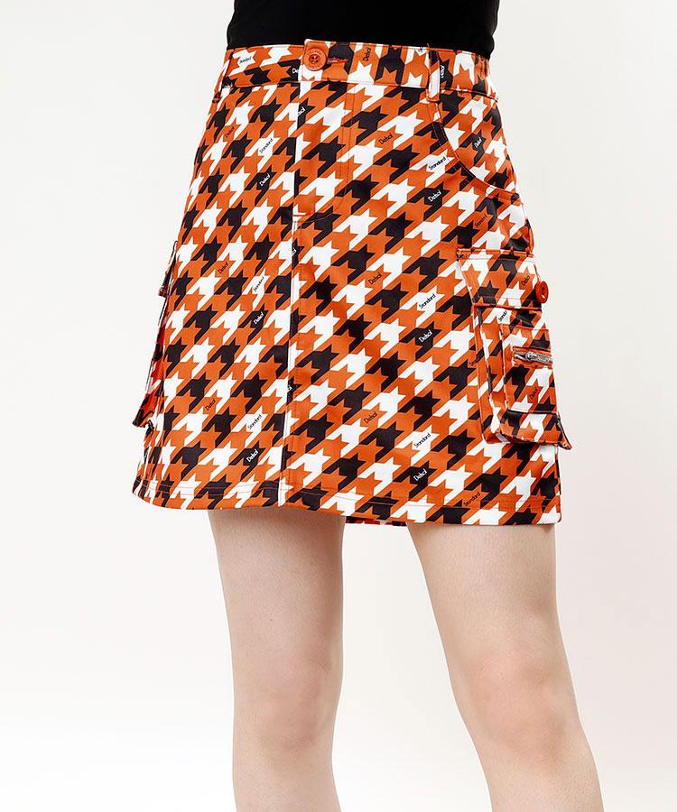 DL 千鳥風◆カーゴスカート