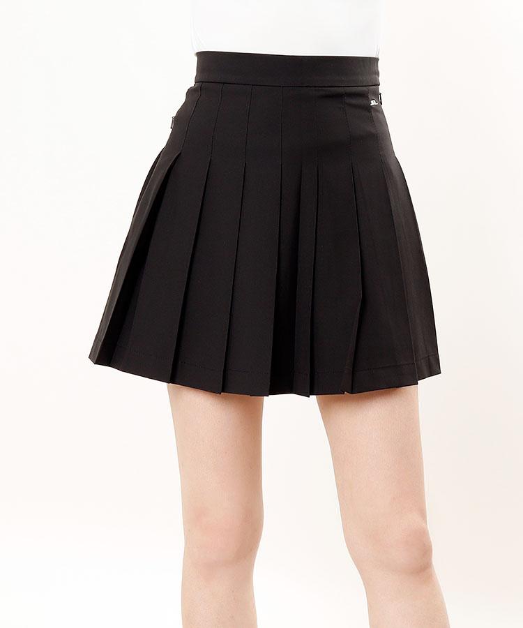 JL 多機能◆ペチパンツ付きプリーツスカート