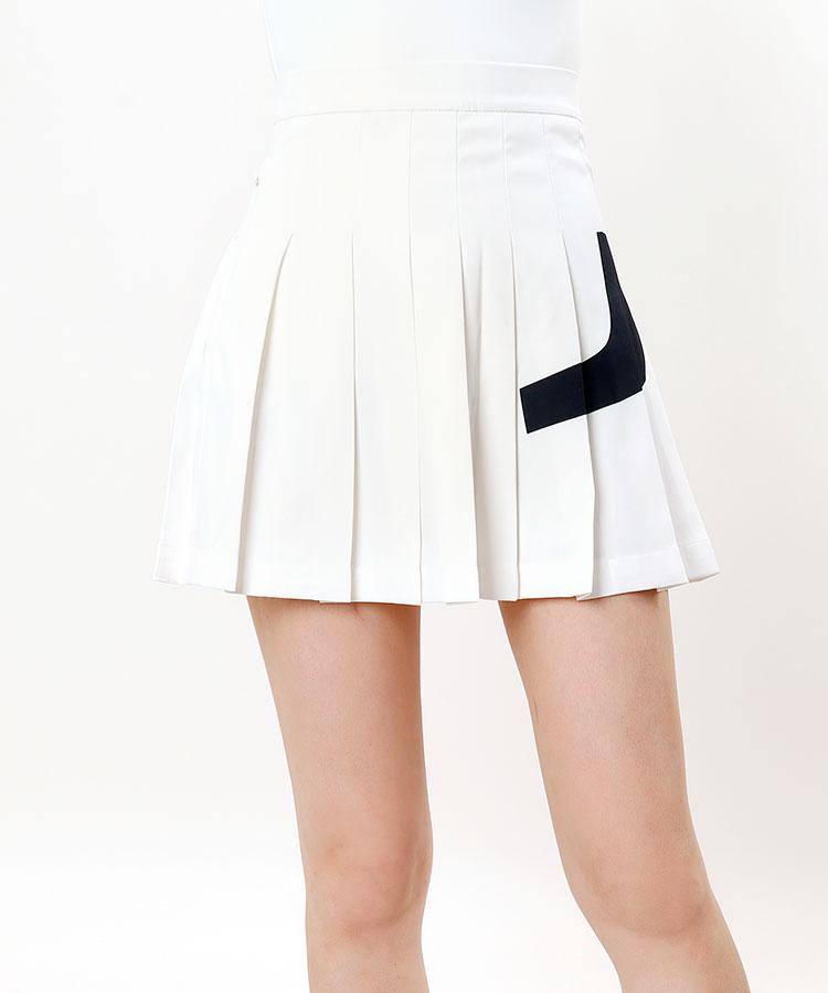 JL ミドル丈★プリーツスカート