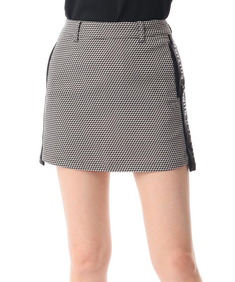 MB サイドロゴLINE★ジグザグPrintスカート